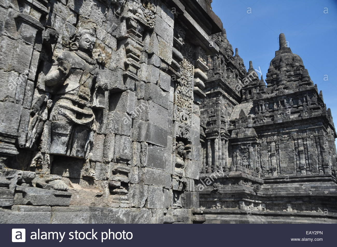 Candi Sewu Relief Stock Photo 75582941 Alamy Kab Klaten