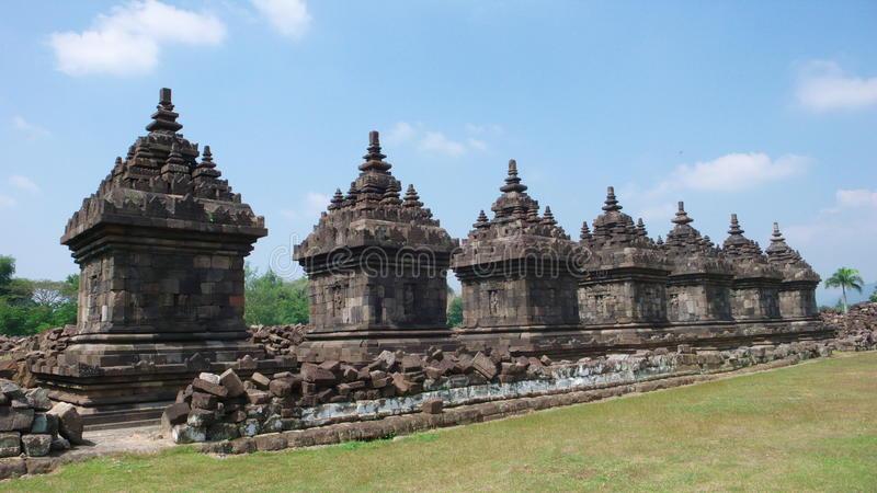 Buddhist Temple Candi Plaosan Lor Stock Photo Image Java Download