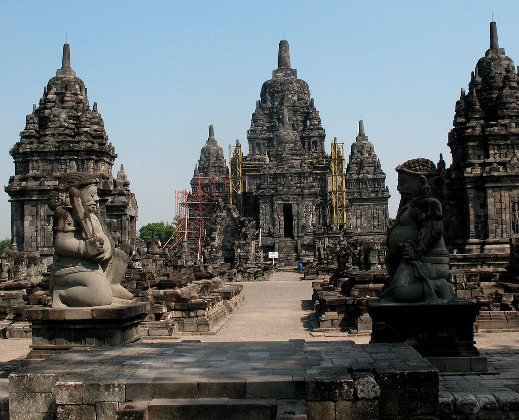 Candi Plaosan Buddhist 9th Century Thought Flickr Myriam Bardino Sojiwan