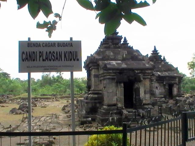 Candi Plaosan Kidul Kabupaten Klaten Provinsi Jawa Tengah Sojiwan Kab