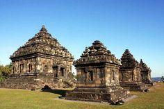 Candi Plaosan Sebutan Kompleks Ijo Temple Patterned Hindu Enshrinement Building