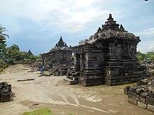 Candi Plaosan Wikipedia Bahasa Indonesia Ensiklopedia Bebas Kidul Bercorak Hindu