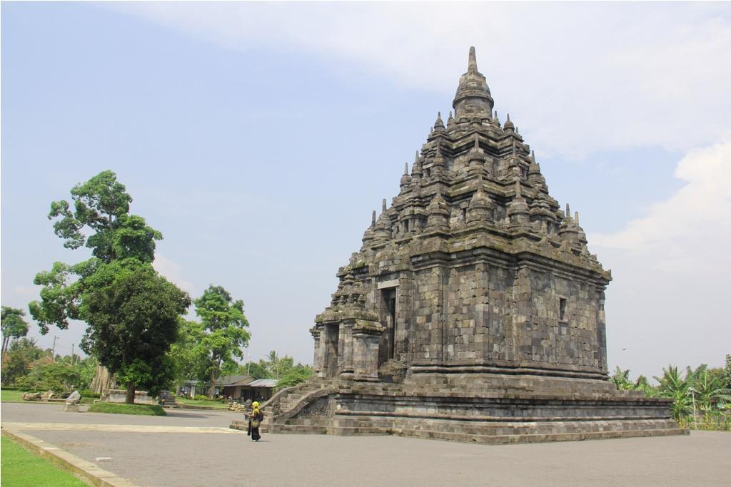 Candi Sojiwan Indonesia View Kab Klaten