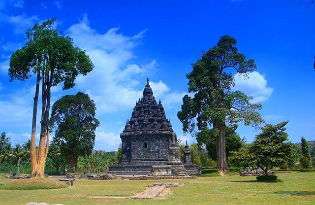 Candi Sojiwan Klaten Jawa Tengah Sajiwan Sebuah Buddhis Terletak Desa