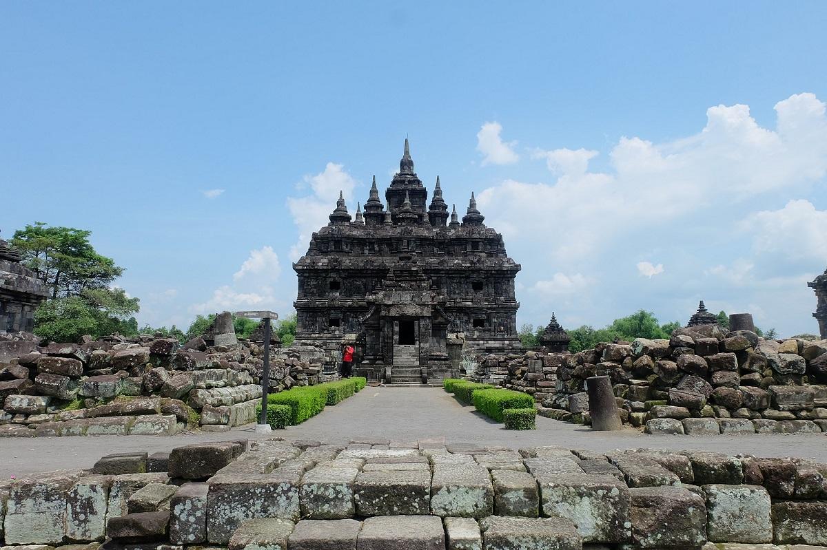 Dokumentasi Candi Plaosan Bentuk 3 Dimensi Direktorat Bangunan Kuno Berdiri