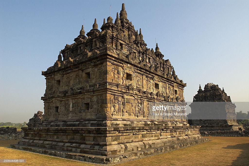 Indonesia Java Island Candi Plaosan Temple Remains Stock Photo Sojiwan