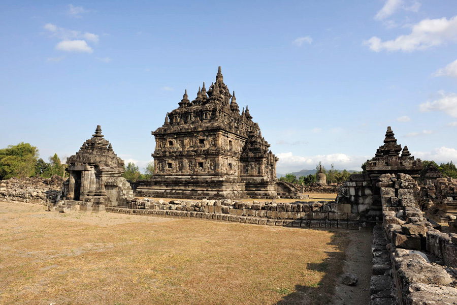 Plaosan Temple Yogyakarta Attraction Indonesia Copy Nomo Candi Sojiwan Kab