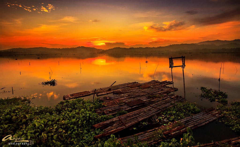 Good Morning Rowo Jombor Sunrise Klaten Flickr Anjar Wisnubroto Kab