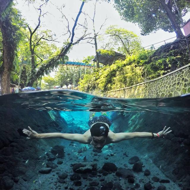 15 Tempat Wisata Klaten Dekat Jogja Mata Air Cokro Tulung