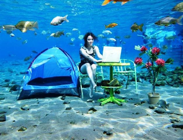 Mari Main Air 7 Umbul Cantik Jawa Tengah Klikhotel Ponggok