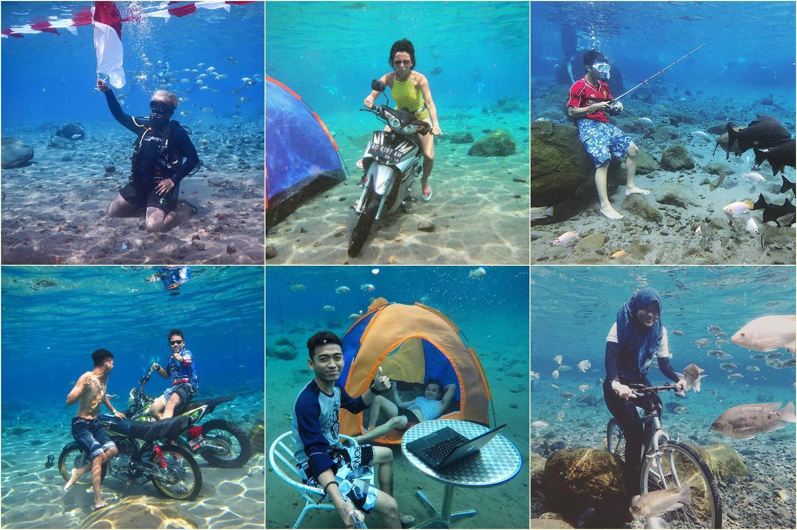 Tempat Wisata Umbul Klaten Keren Liburmulu Ponggok Rasakan Sensasi Berenang
