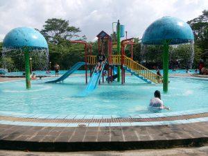 Umbul Cokro Legenda Wisata Air Kabupaten Klaten Jatengku Kolam Bermain