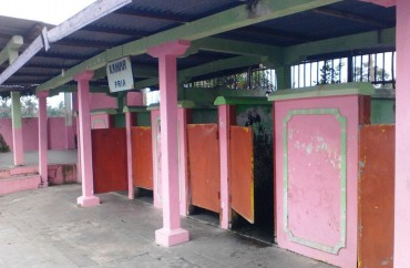 Objek Wisata Klaten Fasilitas Umbul Jolotundo Memprihatinkan Kondisi Kamar Ganti