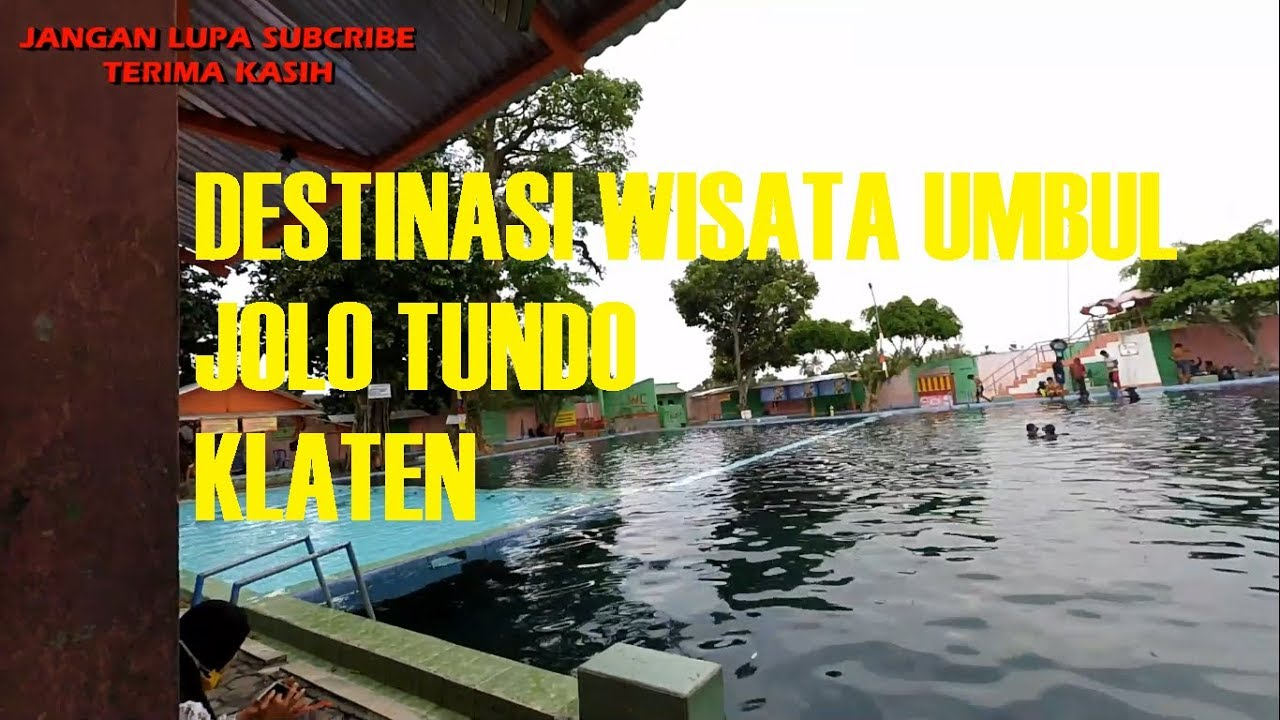 Umbul Jolotundo Klaten Youtube Kab