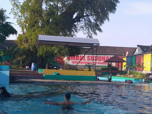 Umbul Susuhan Desa Manjungan Menjadi Favorit Wisata Air Klaten Siapa