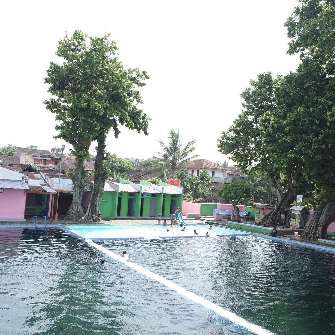 Wisata Pemandian Jolotundo Umbul Klaten Travel Atan Memiliki Luas Sekitar