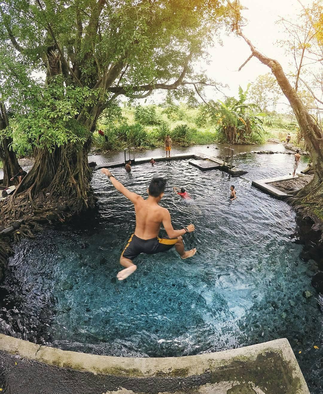 Menikmati Jernihnya Air Wisata Umbul Manten Klaten Travel Story Foto