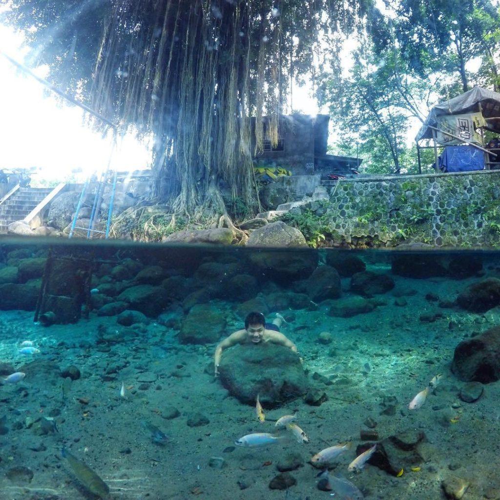 Umbul Manten Klaten Menikmati Kesegaran Air Pegunungan Media Kab