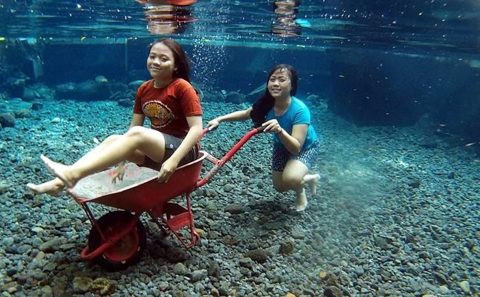 Destinasi Wisata Air Umbul Nilo Klaten Jawa Tengah Salah Satu