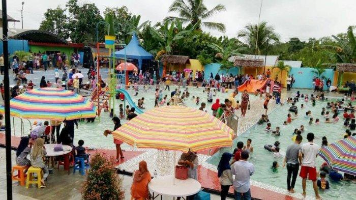 Asyik Balangan Punya Waterpark Banjarmasin Post Kupang Kab
