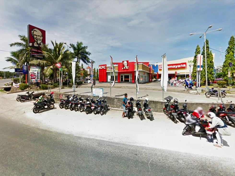 Flobamora Mall Kota Kupang Indonesia Kfc Waterpark Kab