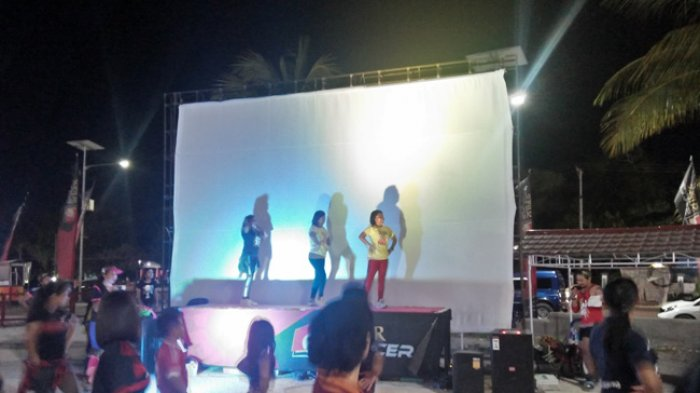 Mersy Senang Olahraga Malam Minggu Pos Kupang Waterpark Kab