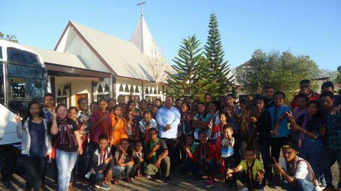 Omk Kalongbuku Alor Berwisata Ziarah Religi Taman Doa Oebelo Kupang