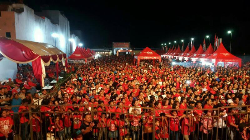 Pesta Rakyat Telkomsel 4g Waterpark Kupang Portal Ntt Kab
