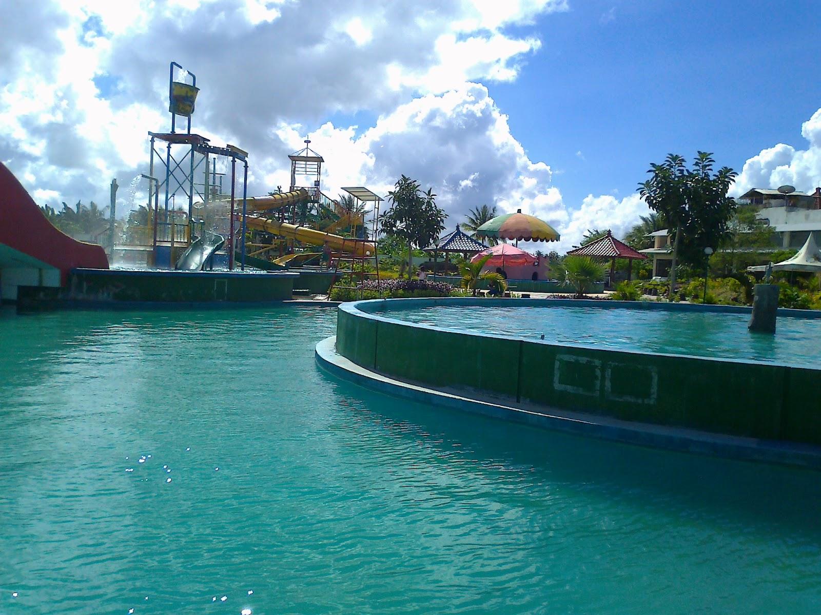 Seru2an Kupang Salah Satu Wisata Air Kota Namanya Water Park