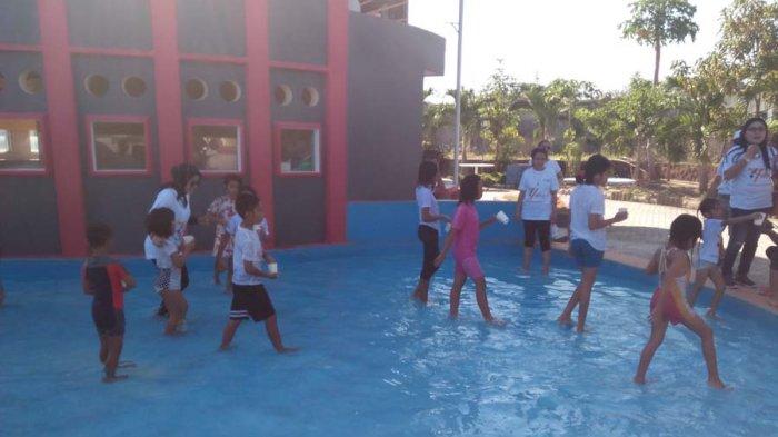 Tag Koin Ternyata Dicari Anak Kolam Pos Kupang Waterpark Kab