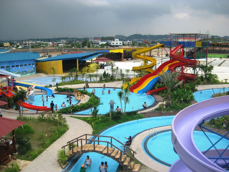 Themepark Indonesia Skyscrapercity Kupang Waterpark Kab