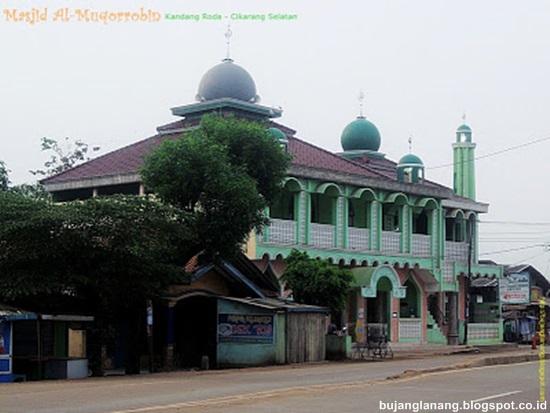 Ayo Masjid Al Muqorrobin Kandang Roda Cikarang Selatan Lihat Jalan