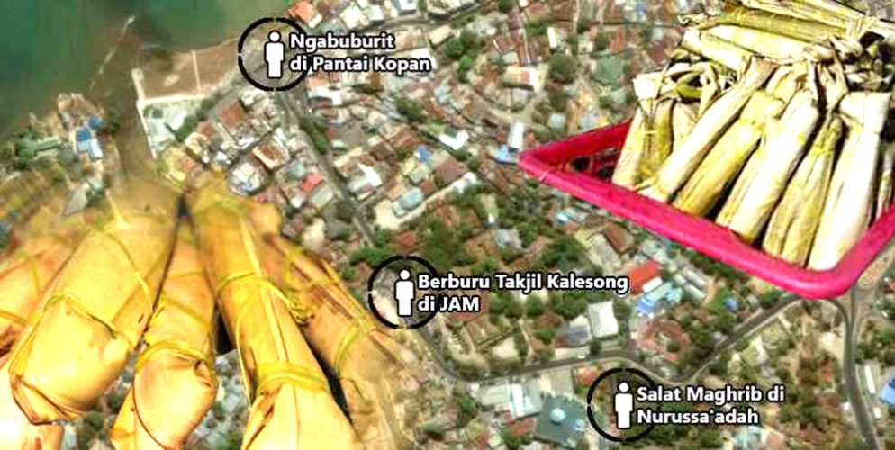 Berburu Kalesong Air Mata Stop Area Berbuka Puasa Masjid Raya