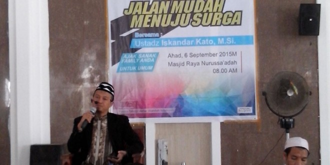Dpd Kupang Ntt Wahdah Islamiyah Gelar Musda Masjid Raya Nurussaadah