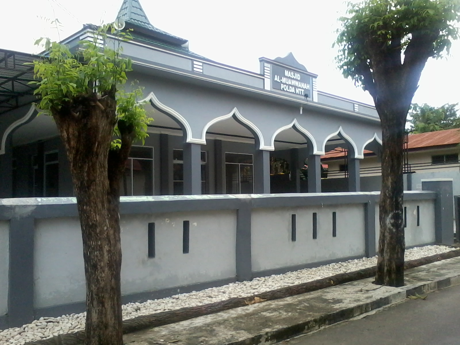 Masjid Al Muawwanah Polda Ntt Haidi Barasa 2014 02 14