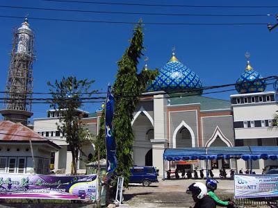 Masjid Raya Nurussa Adah Kota Kupang Ntt Haidi Barasa Nurus