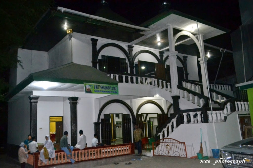 Safari Masjid Kupang Ntt Popcorn Life Kesempatan Shalat Tarawih Kedua