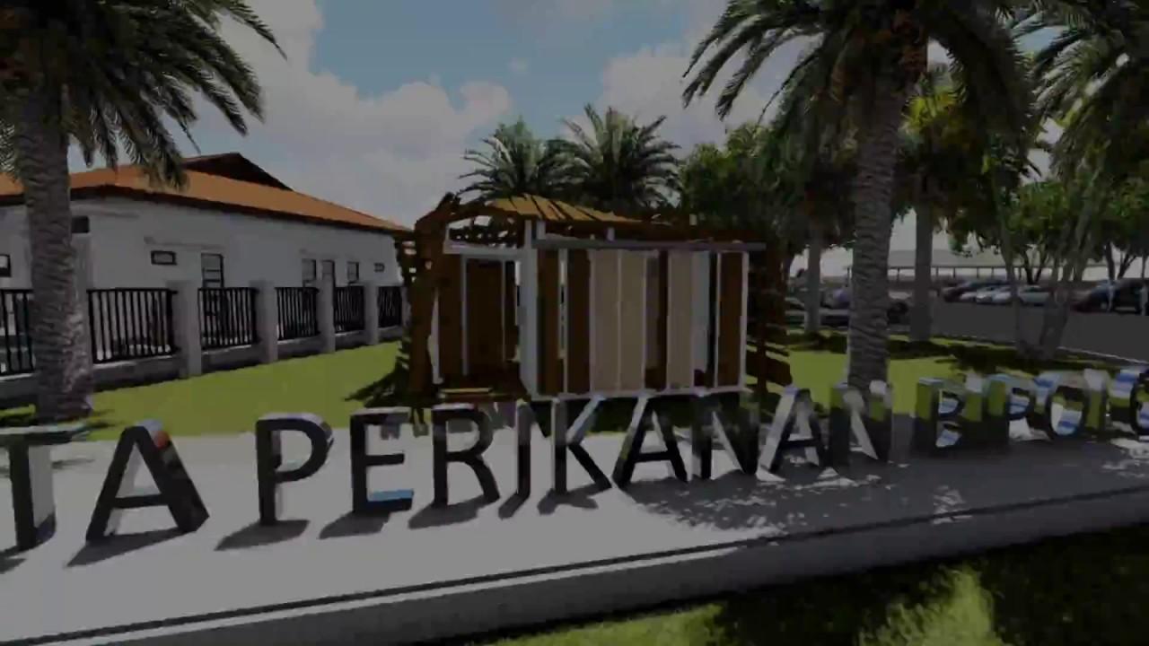 Animasi Masterplan Wisata Perikanan Bipolo Kab Kupang Ntt Youtube Pantai
