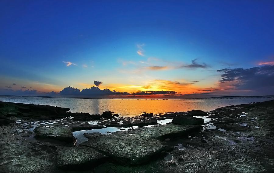 Indonesia Sungguh Indah Pantai Air Cina Kupang Batu Nona Kab