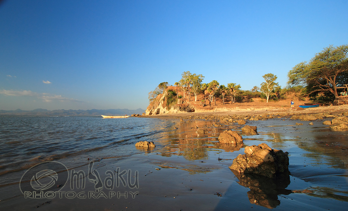Indonesia Sungguh Indah Senja Tanjung Batu Putih Pantai Panmuti Nona