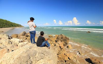 Indonesia Sungguh Indah Sisi Selatan Kupang Pantai Buraen Menikmati Semilir