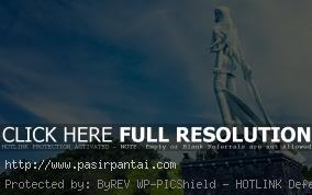 Monumen Patung Batu Nona Pasirpantai Nusa Tenggara Pantai Kupang Ntt