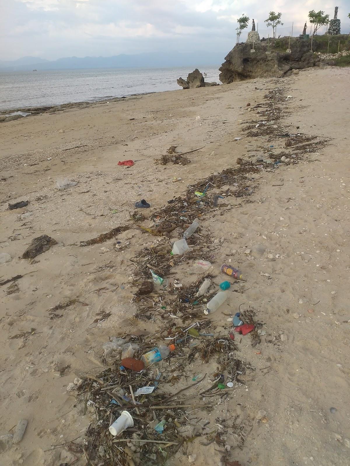 Pantai Manikin Lasiana Batu Nona Setiawan Mangando Sampah Kupang Kab
