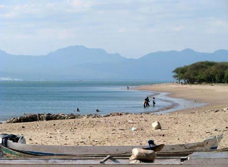 Pariwisata Ntt Lasiana Beach Pantai Kita Bisa Berenang Mandi Tepi