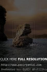 Patung Batu Nona Pasirpantai Nusa Tenggara Pantai Kupang Ntt Kab