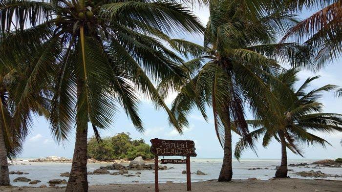 Hunting Foto Bebatuan Karang Pantai Pulau Tiga Bio Asik Keren
