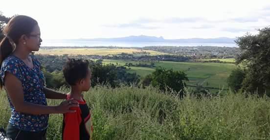 Nikmati Kemolekan Teluk Kupang Sawah Menghijau Bukit Pemandangan Salah Satu