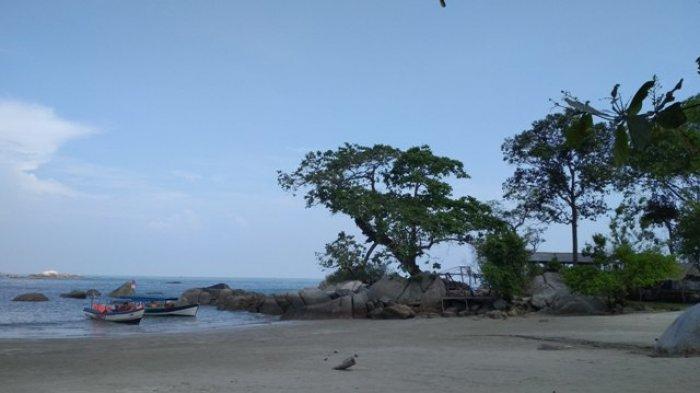 Panorama Menggoda Pantai Penyusuk Pulau Putri Belinyu Bangka Pos Kelapa