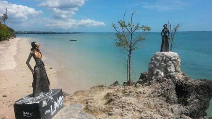 Pantai Batu Nona Kecamatan Kelapa Lima Kota Kupang Ntt Tinggi