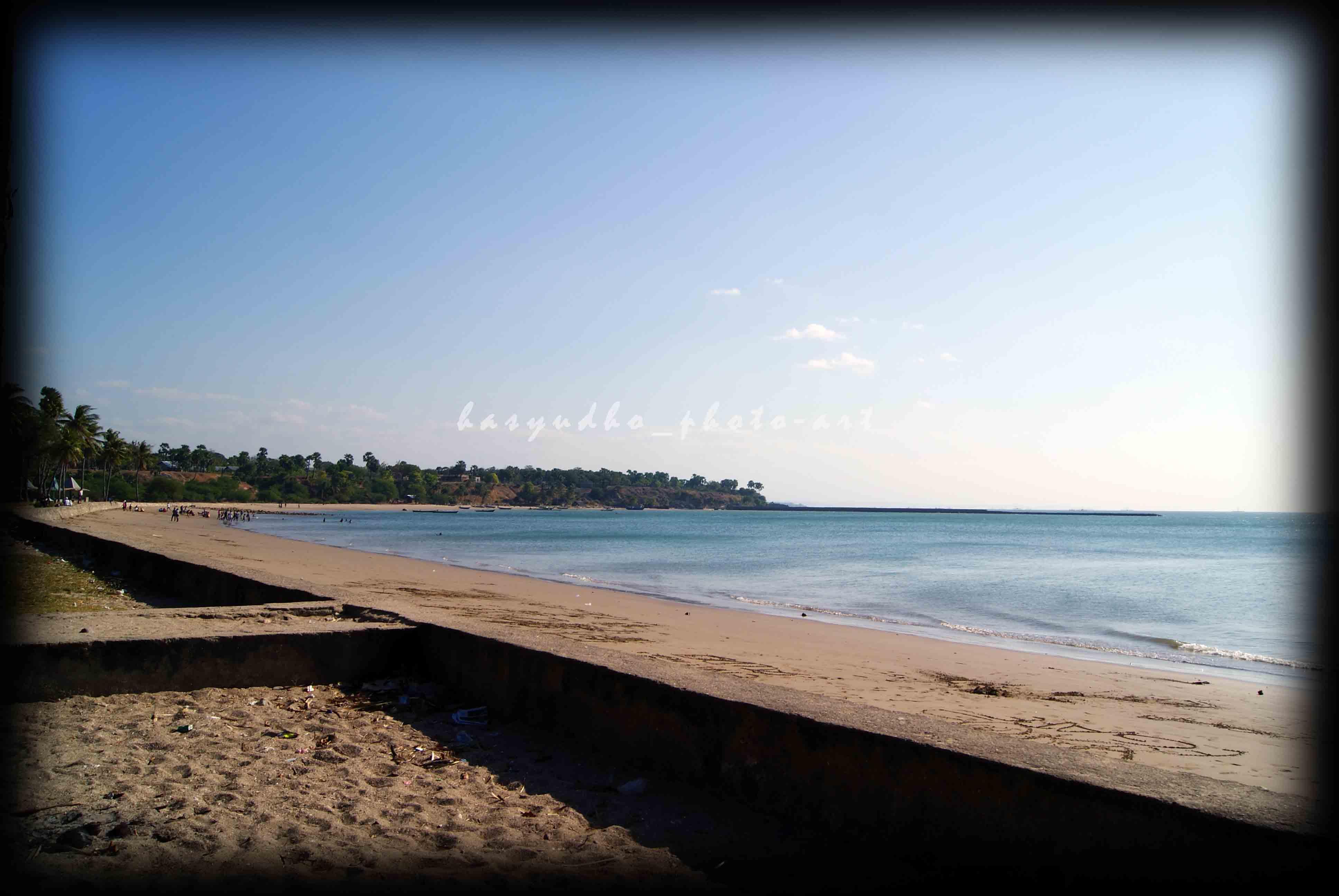 Pantai Lasiana Indah Timur Kota Kupang Hasyudho Setelah Masuk Kawasan